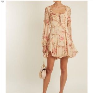 NWT Zimmermann silk dress